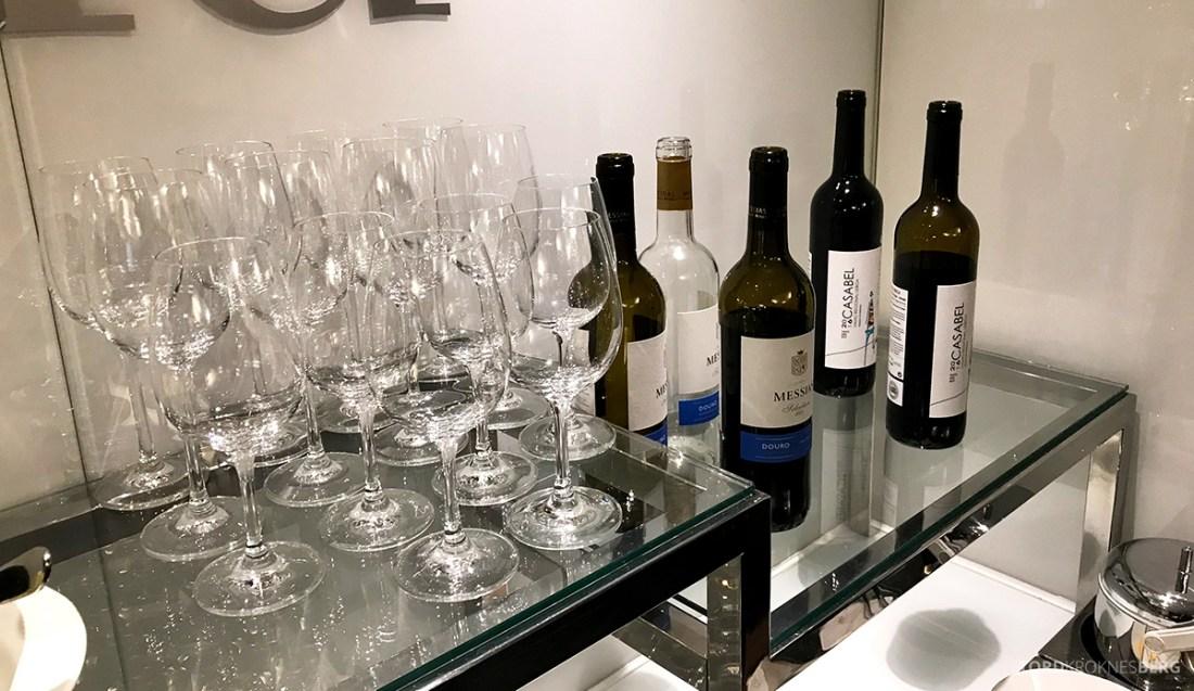 Sheraton Lisboa Hotel Club Lounge vin