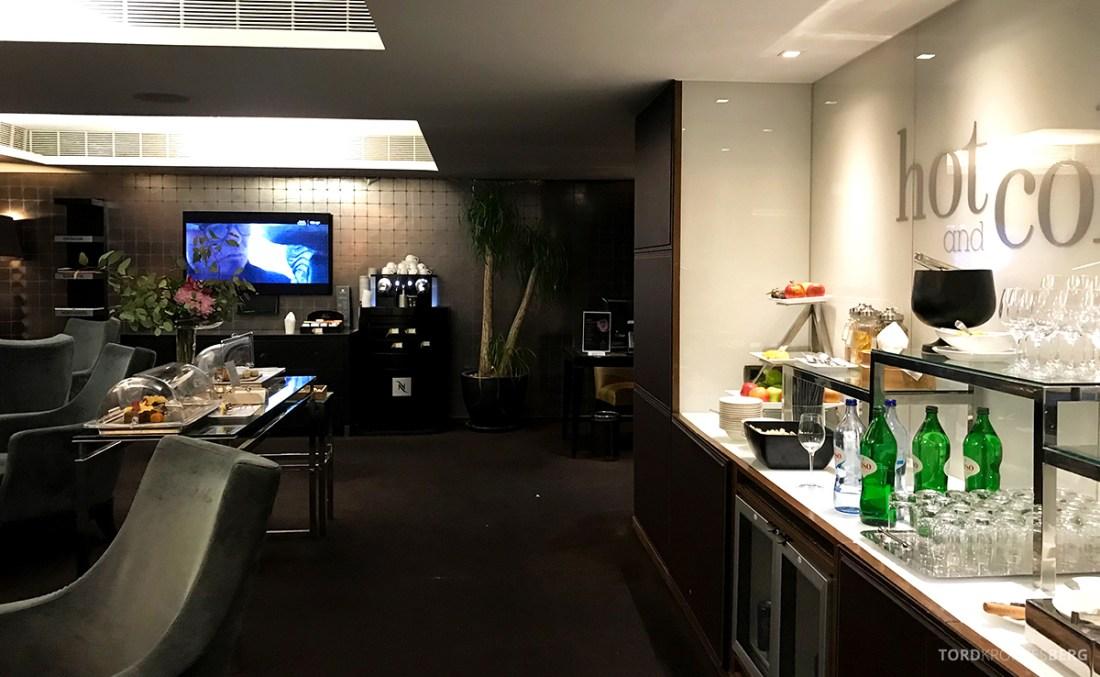 Sheraton Lisboa Hotel Club Lounge buffet