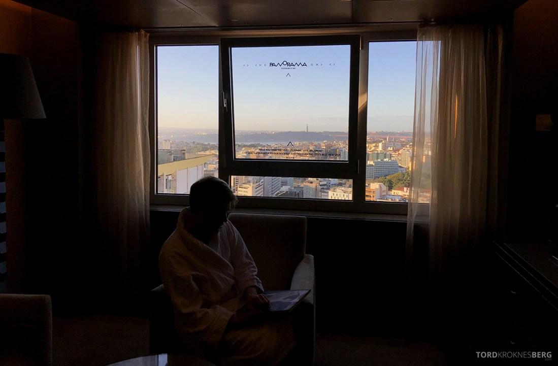 Sheraton Lisboa Hotel Tord Kroknes Berg utsikt