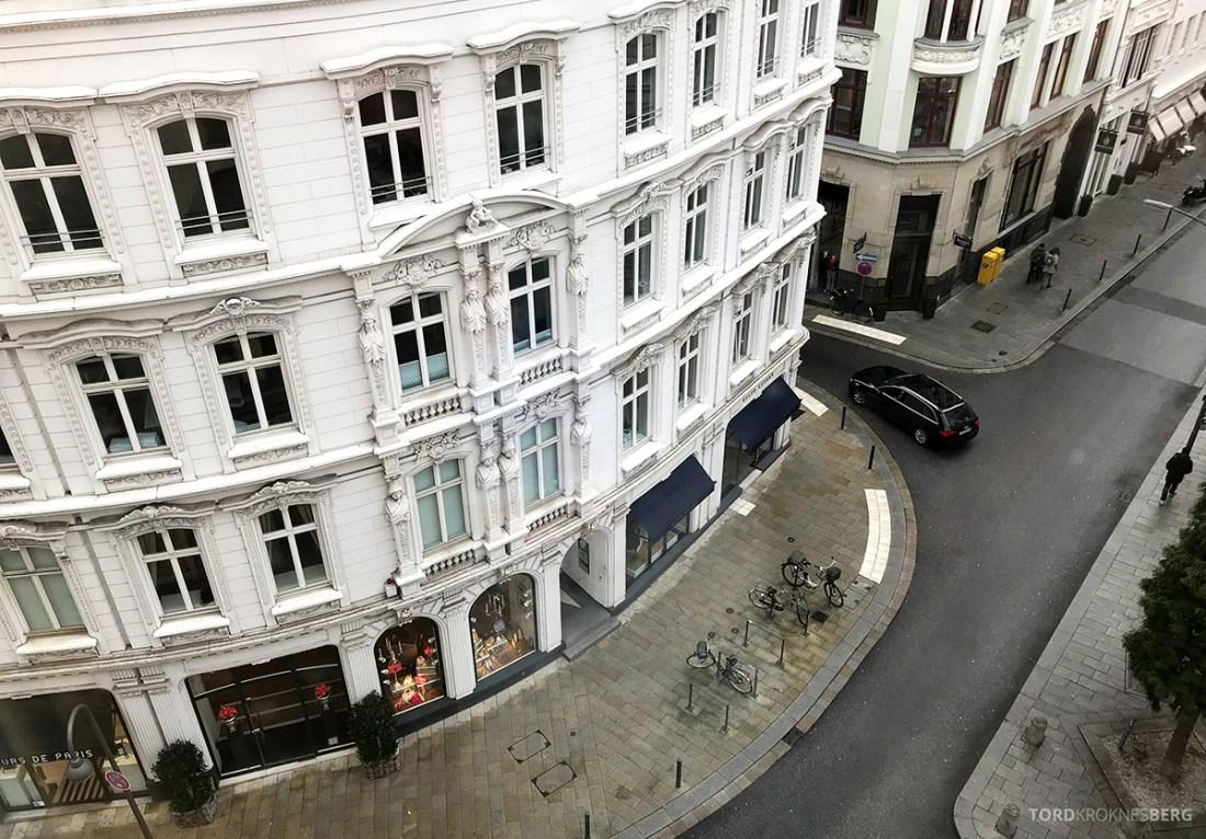 Marriott Hamburg Hotel utsikt
