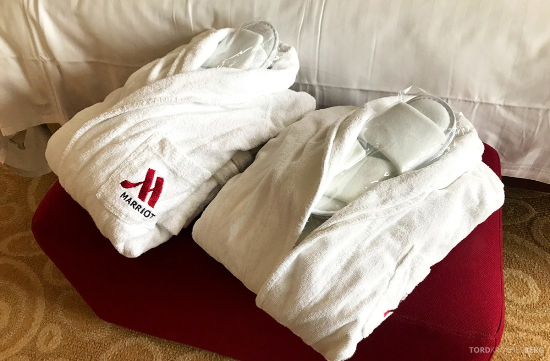 Marriott Hamburg Hotel badekåper