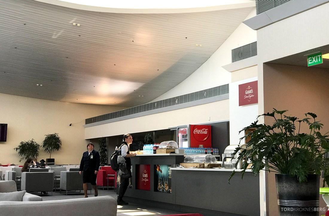Borispol Airport Lounge Kyiv oversikt buffet