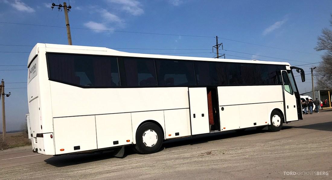 Chernobyl Pripyat Tour bussen