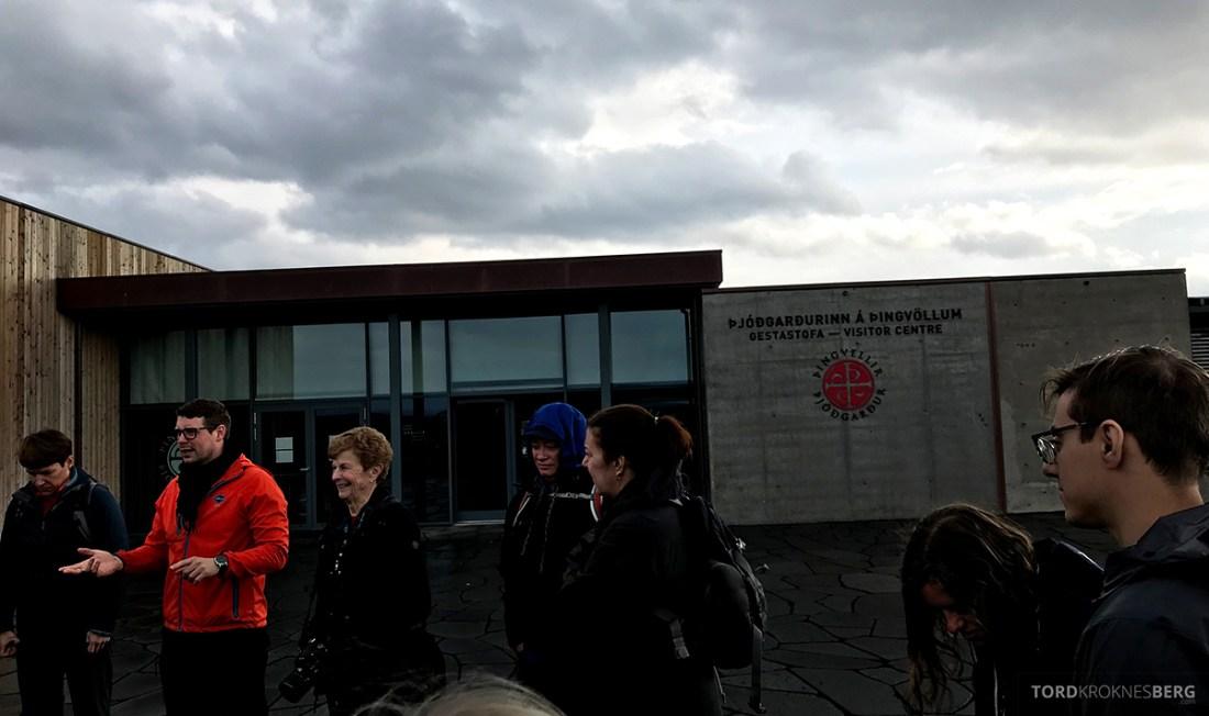Golden Circle Tour Island Þingvellir nasjonalpark besøkssenter