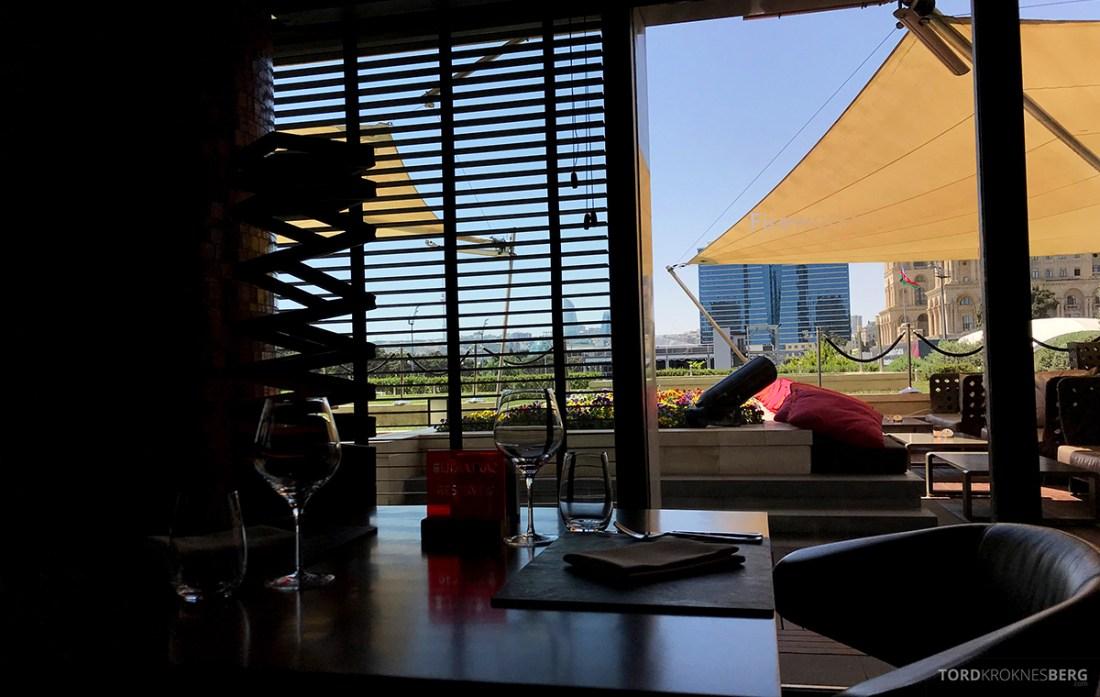 JW Marriott Absheron Hotel Baku utsikt