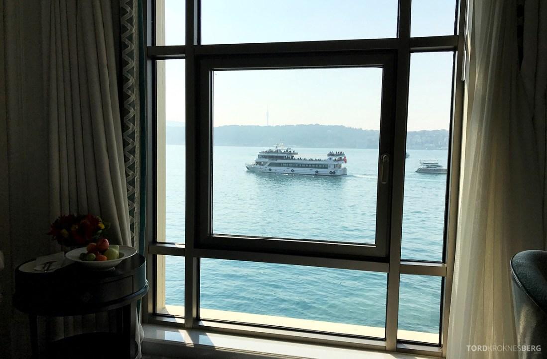 Shangri-La Bosphorus Istanbul Hotel utsikt cruse