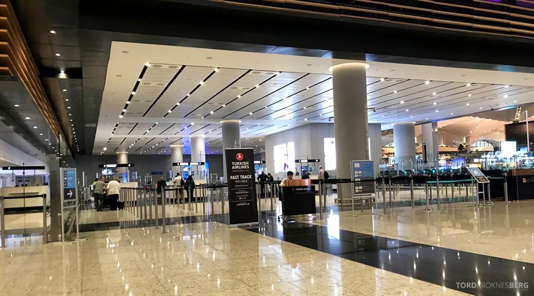Turkish Airlines Economy Class Istanbul Baku fast track