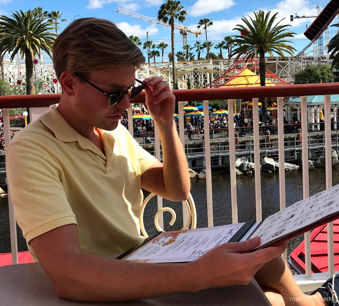 Disneyland California Tord Kroknes Berg meny
