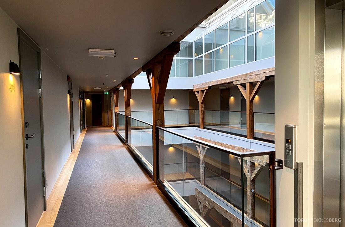 Hotel Brosundet Ålesund korridor