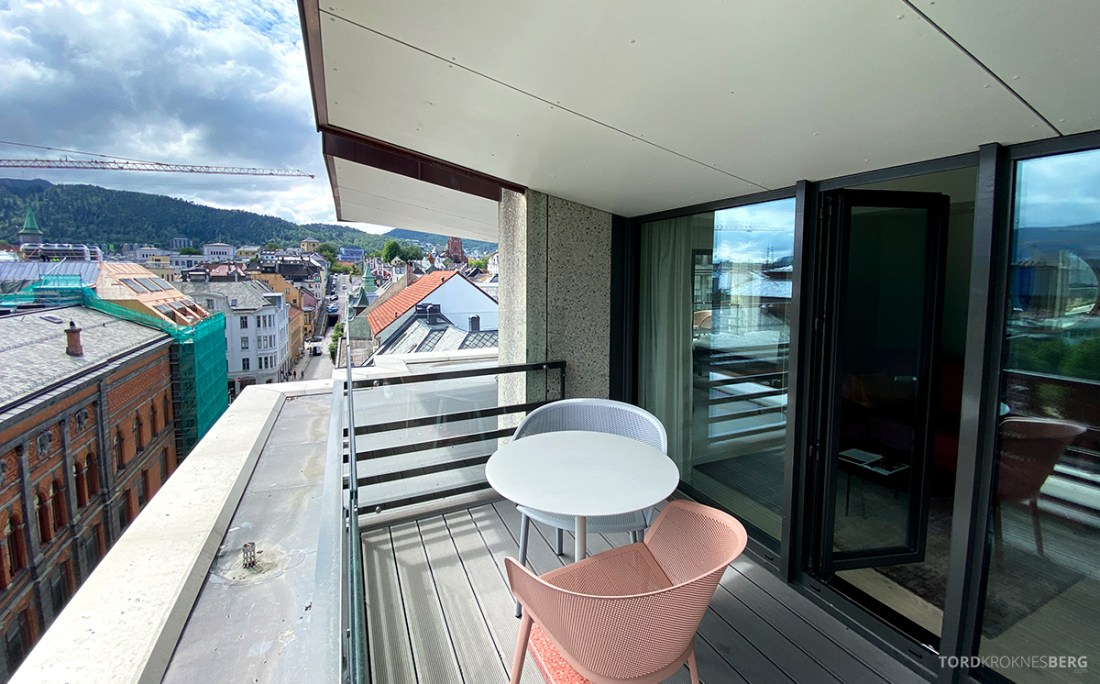 Hotel Norge by Scandic Bergen balkong