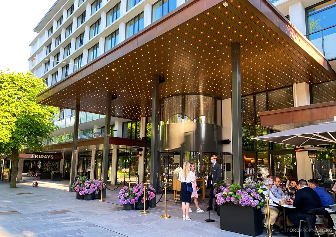 Hotel Norge by Scandic Bergen hovedinngang