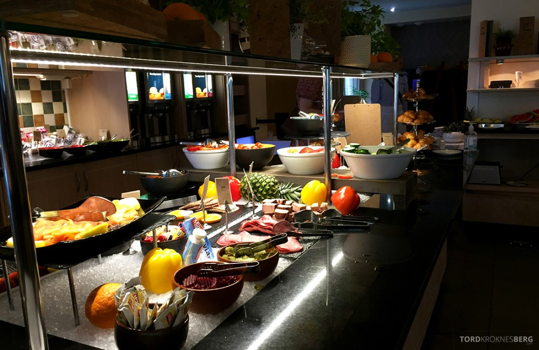 Clarion Collection Hotel Gabelshus Oslo frokostbuffet