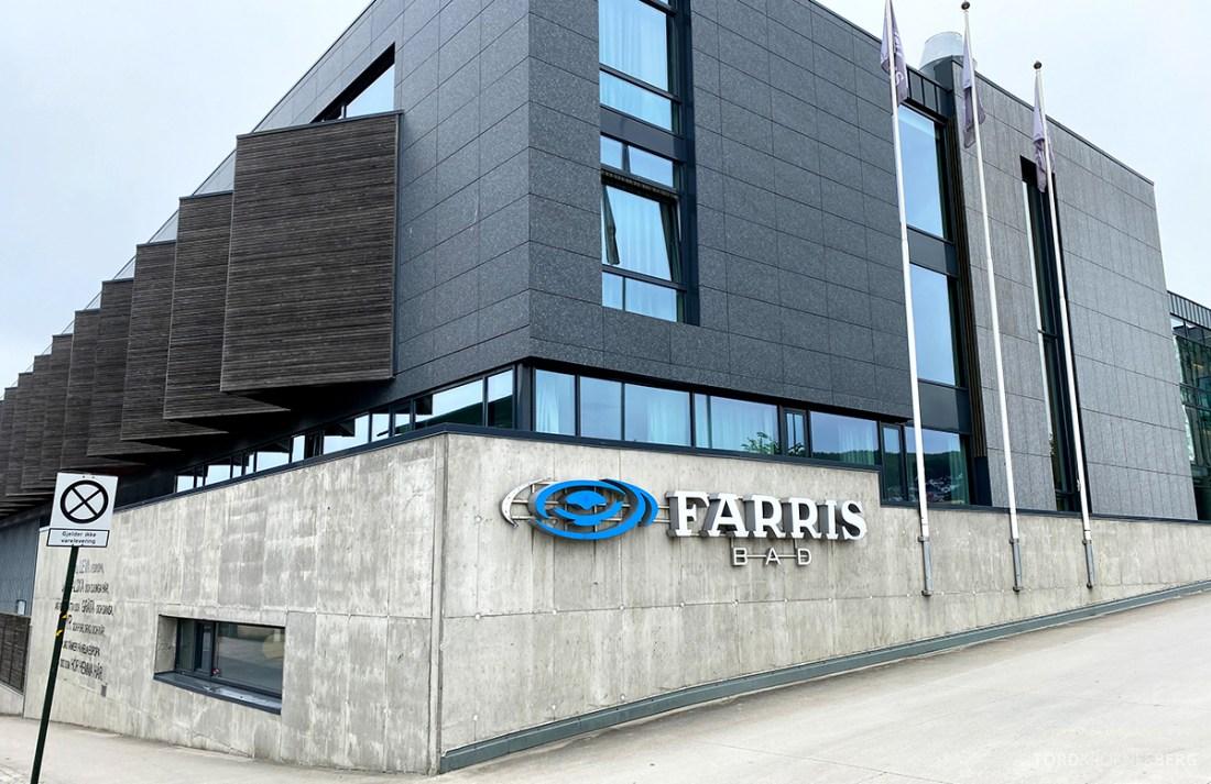 Farris Bad Larvik innkjørsel