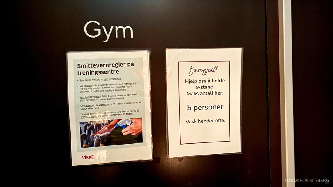 Farris Bad Larvik inngang gym