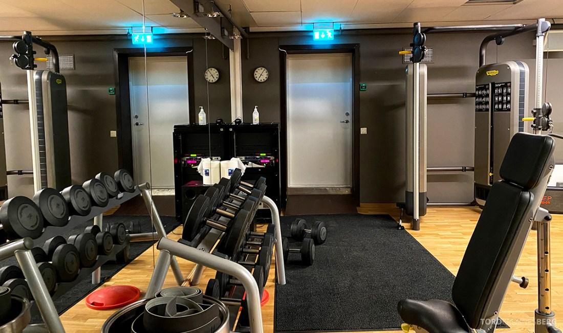 Farris Bad Larvik vekter gym