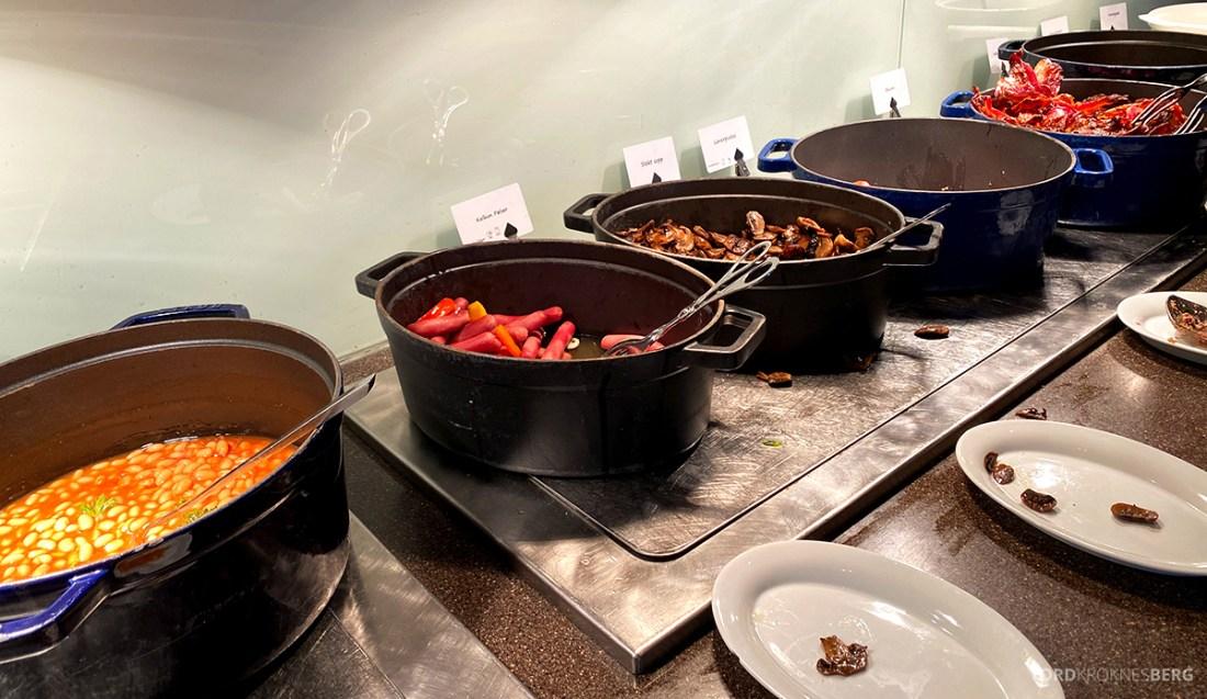 Farris Bad Larvik frokost varmmat