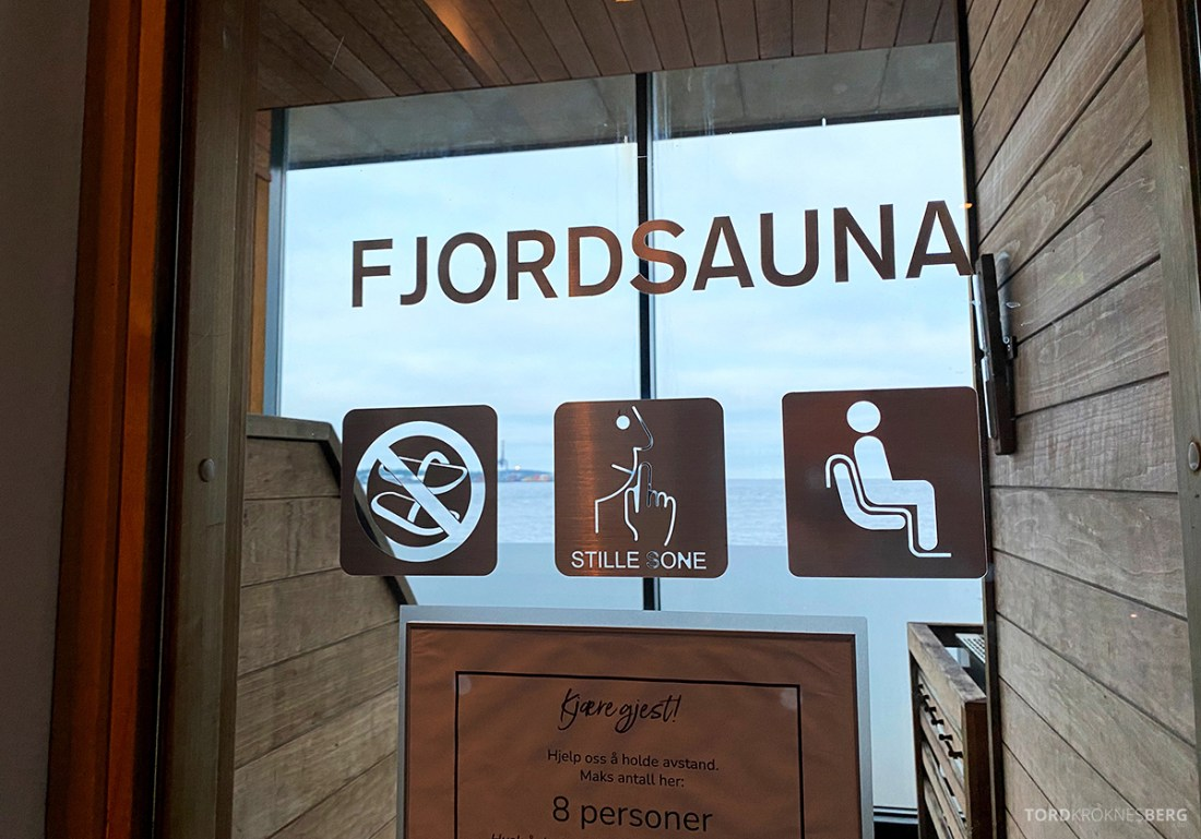 Farris Bad Larvik spa fjordsauna