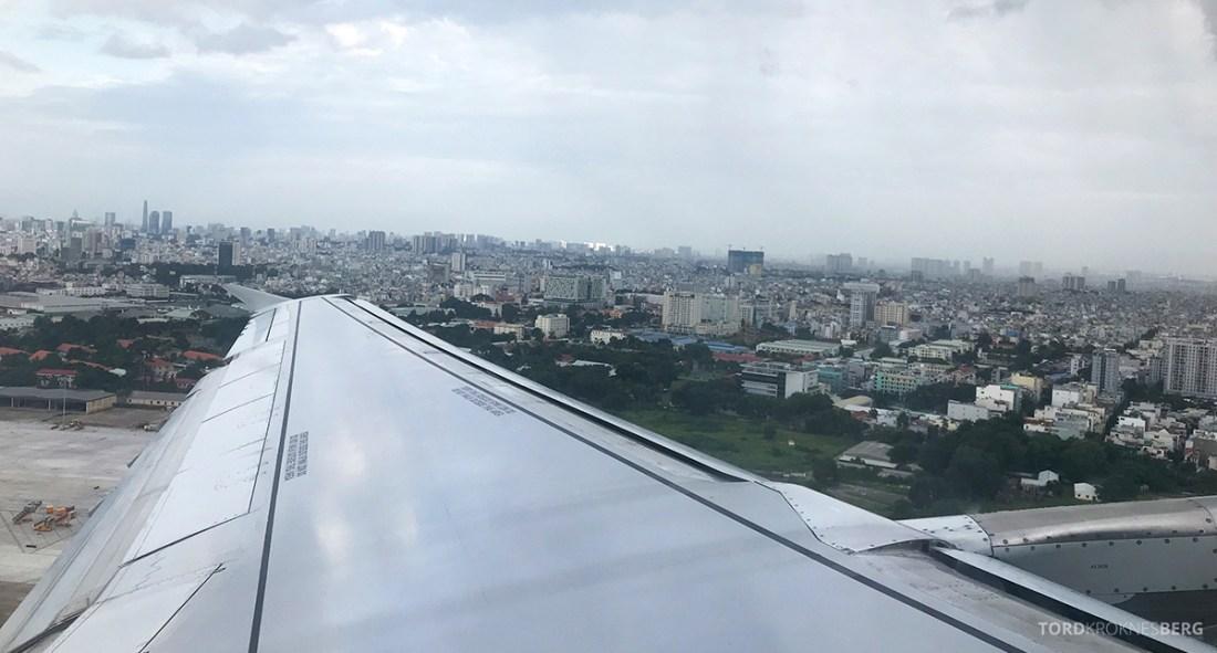 Vietnam Airlines Economy Class Ho Chi Minh City Phnom Penh adjø