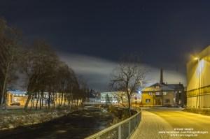 Brennerigata, Gjøvik by night