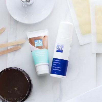My Waxing & Shaving Routine | PFB Vanish Review