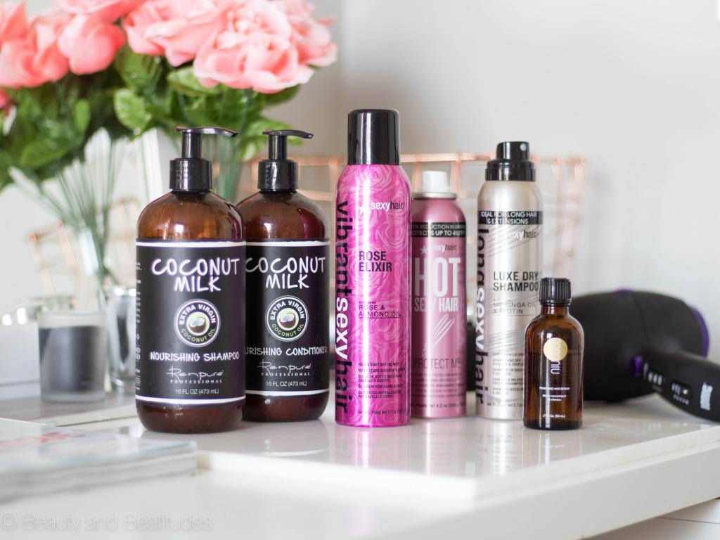 Healthy & Shiny Hair Routine