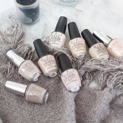 My Favorite OPI Neutrals – Nude Nails