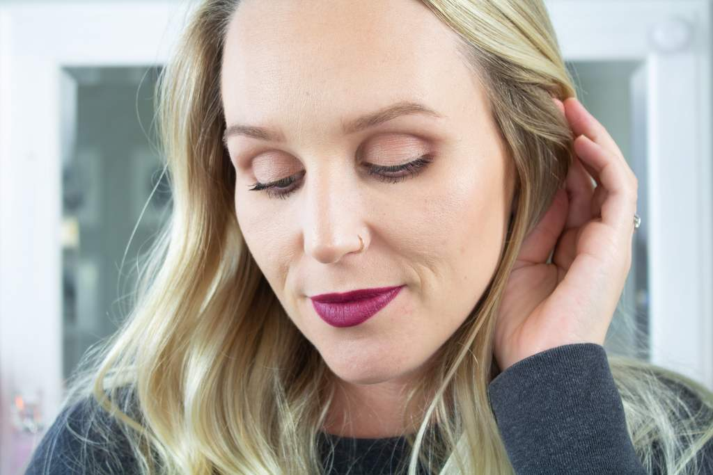 Fall Makeup | Berry Eyes and Lips