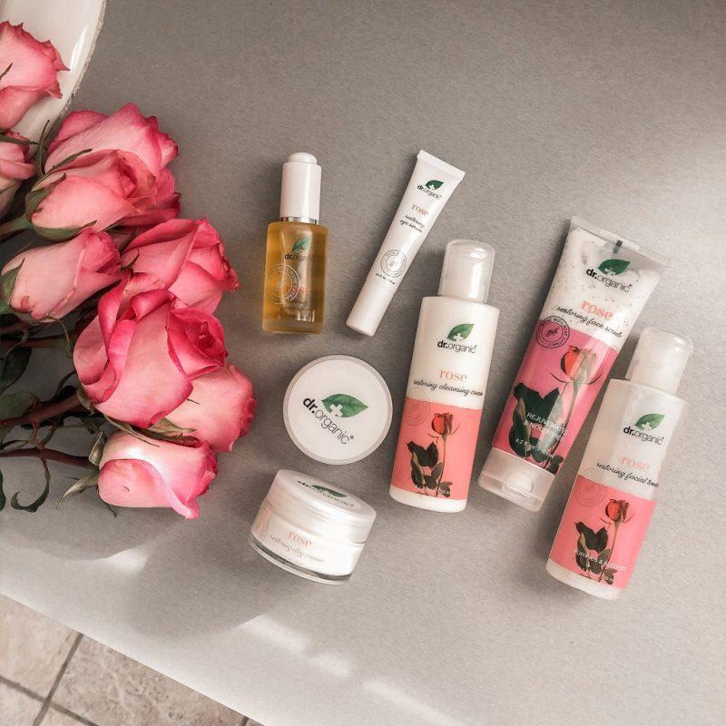 Rose Skincare Benefits | Dr Organic Skin