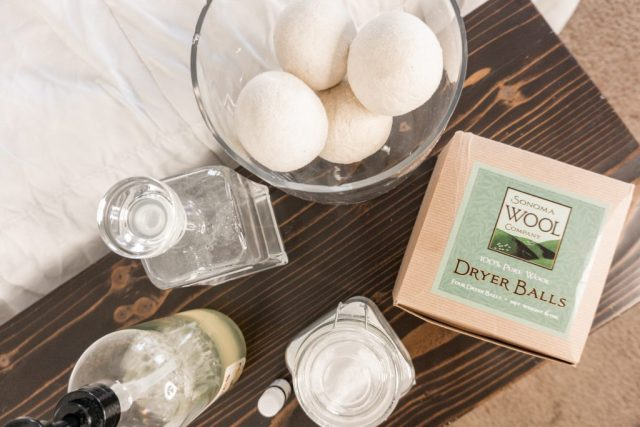 young living essential oils laundry routine + DIY's