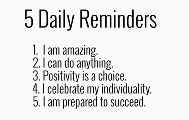 5 Daily Reminders 6-26