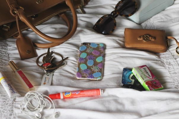 6-30-16 whats in my bag 1