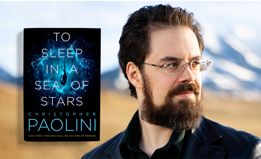 <div></noscript>Q&A with Christopher Paolini and To Sleep in a Sea of Stars Cover Artist Lindy Martin!</div>