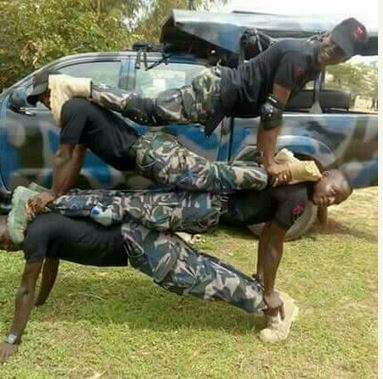 Image result for Nigerian military training