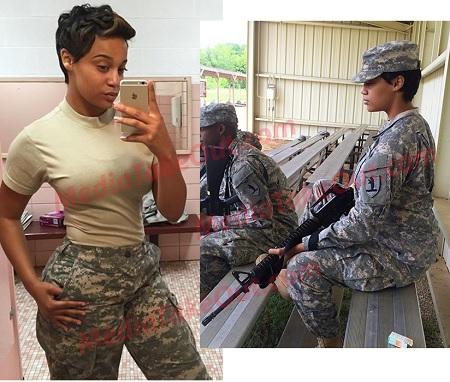 Us lady army