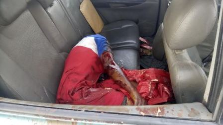 See Graphic Photos of a Fatal Car Crash in Port Harcourt
