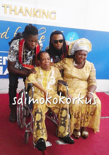 Are They Getting Married Soon Flavour and Babymama in Uniform Attire at an Enugu Event Photos