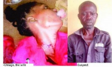 Dominic Iyayi Ogar brutally murdered his wife and daughter
