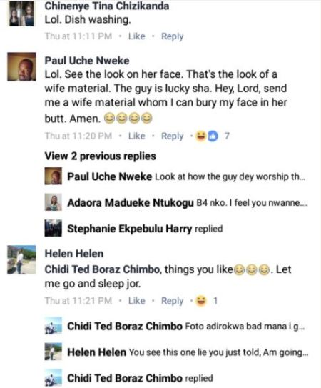 pre w4 - New Style? Internet Boils As Man Is Seen Burying Face In His Fiancee's Bum For Pre-wedding Photo