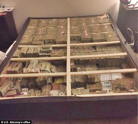 Unbelievable 20million Cash Found Stashed Inside A Bed