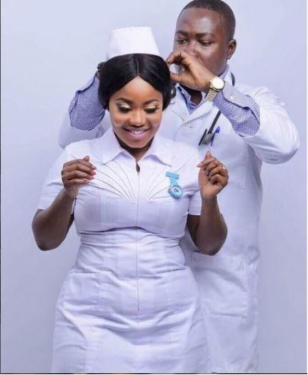 Look at the Pre-Wedding Photographs of a Doctor and a Nurse with Monstrous Bum
