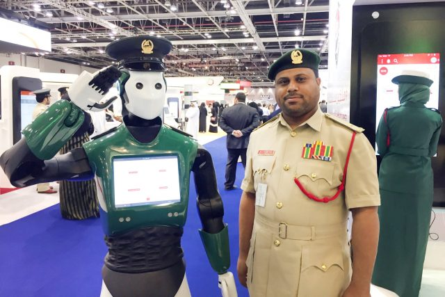 First Fully-operational Robocop' That Speaks Six Languages, Begins Work As Policeman In Dubai 1