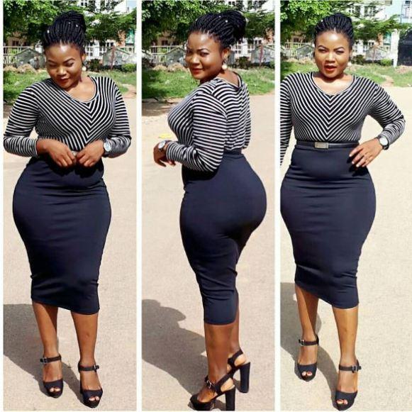 Nollywood Actress Parades Hot Bum Bum on Social Media (Photos) 4