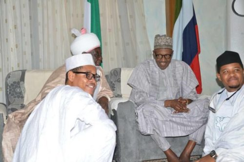 AMAZING..... When two Buharis finally met