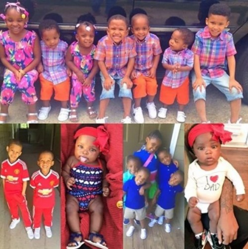 Meet The 26-year-old Pretty Young Mother of 9 Beautiful Children (Photos)
