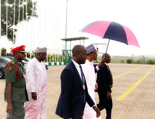 President Buhari Moves Out Of Abuja