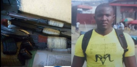 Notorious Armed Robbers Caught In Port-Harcourt (Photos)