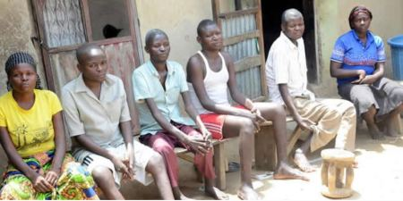SO Wild See six Siblings Who Became Paralyzed One After Another In Nasarawa (Photo)
