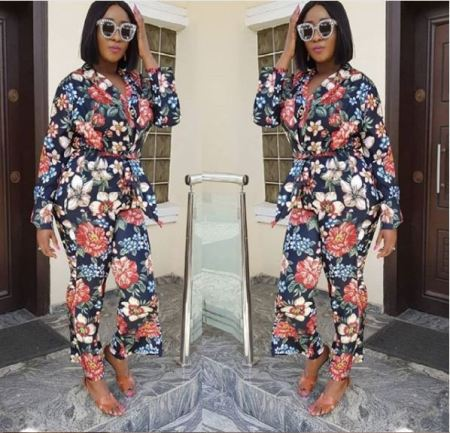 See This Wonderful shot of Ini Edo As she Steps Out In New Style (Photos)