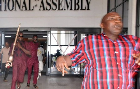 Name List Of Arrested Suspects Who Snatched Senate Mace Released