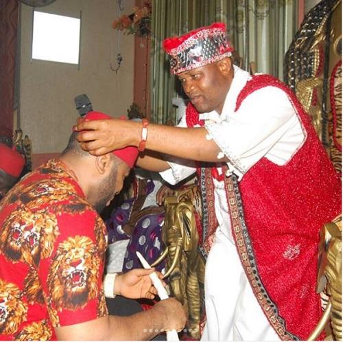 Olakunle Churchill Bags Chieftaincy Title In Enugu (Photos)